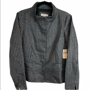 Coldwater Creek NWT Lined Houndstooth Jacket  14